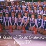 THS Cheerleaders earn awards at NCA Class 5A State of Texas Championships competition