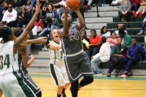 Lamar Girls 8th Grade A Basketball vs. Travis