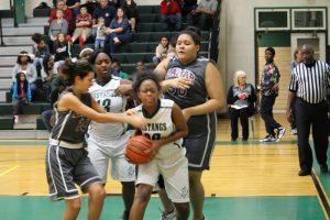 Travis Girls 8th Grade A Basketball vs. Lamar