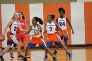 Bonham Girls 8th Grade A Basketball vs. South Belton