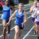 Tem-Cat JV Track takes 4th at Temple Relays