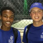 Thompkins, Wolbrueck shine for JV tennis