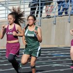 Lamar girls track results at the district meet