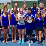 Wildcat Tennis takes 2nd place at 17-5A Championships
