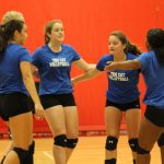 Volleyball host family cookout on Tuesday