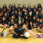 Bonham girls pre-athletics class
