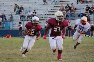 Lamar 7th Grade A Football vs. Midway Blue