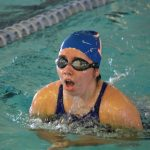 Lady Wildcat Swim in the Wildcat Invitational