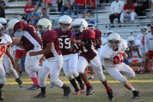 Lamar 7th Grade B Football vs. North Belton