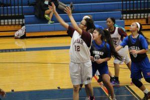 Lamar 8th Grade Girls Basketball @ Tri-Scrimmage