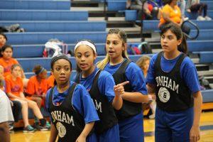 Bonham 8th Grade Girls Basketball @ Tri-Scrimmage