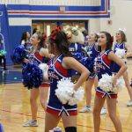 THS Cheerleaders - Regional Semifinals Pep Rally