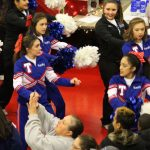 THS Cheerleaders - Semifinals Pep Rally