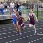 Lamar girls track & field results at the Bonham Invitational