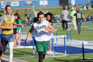 Travis Boys Track & Field at the Travis Invitational