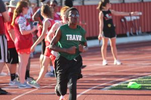 Travis Boys Track & Field at the District Meet