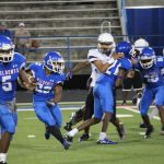JV Blue Football defeats Cedar Ridge 13-12