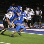 JV Blue Football opens 18-5A play with a win over University