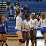Junior Varsity Volleyball sweeps Rudder