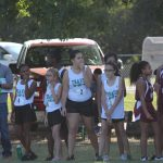 Travis 7th Grade Girls Cross Country @ the District Meet