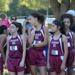 Lamar Girls 8th Grade Cross Country @ the District Meet