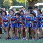 Bonham Girls 8th Grade Cross Country @ the District Meet
