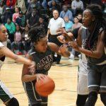 Lamar girls basketball results versus Travis