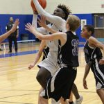 Freshman Boys White Basketball plays College Station to a draw