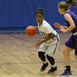 Freshman girls basketball rallies to beat College Station