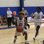 Boys Freshman White Basketball falls short to Bryan