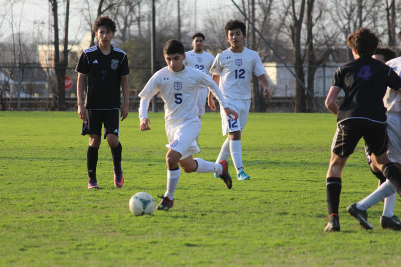 Boys JV A soccer falls to College Station 2-1