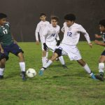 Boys JV A Soccer falls to Rudder 5-3