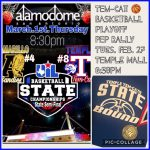 Tem-Cat Basketball State Tourney Pep Rally set for Tuesday
