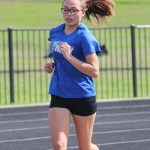 JV Girls Track & Field @ Temple Relays - Running Events