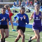 JV Girls Track results from the Temple Relays