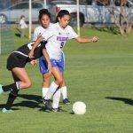 JV Girls Soccer ties University