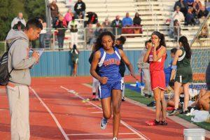 Bonham Girls 7th Grade Track @ the District Meet