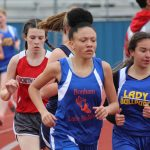 Bonham 8th Grade Girls Track results from the District Meet