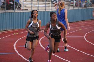 Lamar Girls 8th Grade Track @ the District Meet