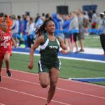Travis 7th Grade Girls results from the District Track Meet