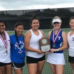 Temple Tennis results from the District Tournament