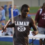 Lamar Boys 7th Grade Track results from the District Meet