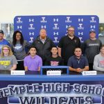 Temple athletes celebrate college commitments