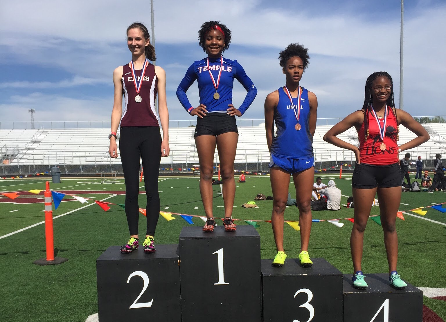 Womack, Tem-Cats take 2nd at the Area Meet