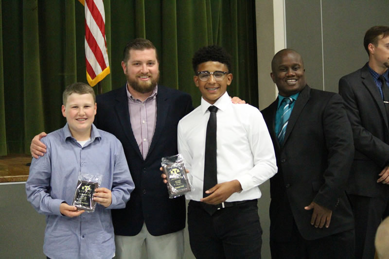 Travis 7th Grade Boys Athletic Awards Announced