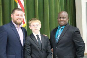 Travis Mustang 8th Grade Awards Banquet