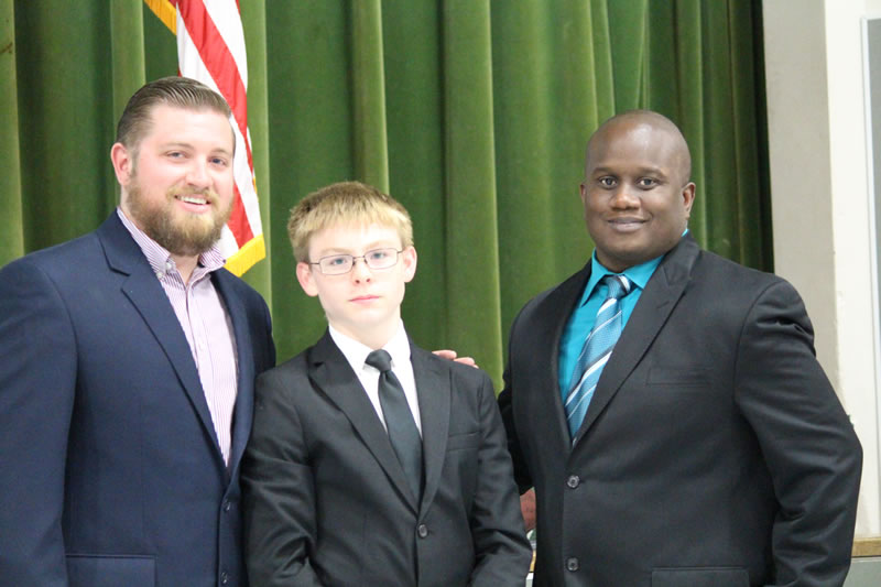 Travis 8th Grade Boys Athletic Awards Announced