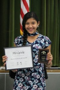 Travis Girls 7th Grade Athletics Awards Banquet