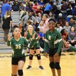 Travis 7th grade volleyball earns split with Bonham