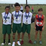 Tamez leads Travis boys cross country